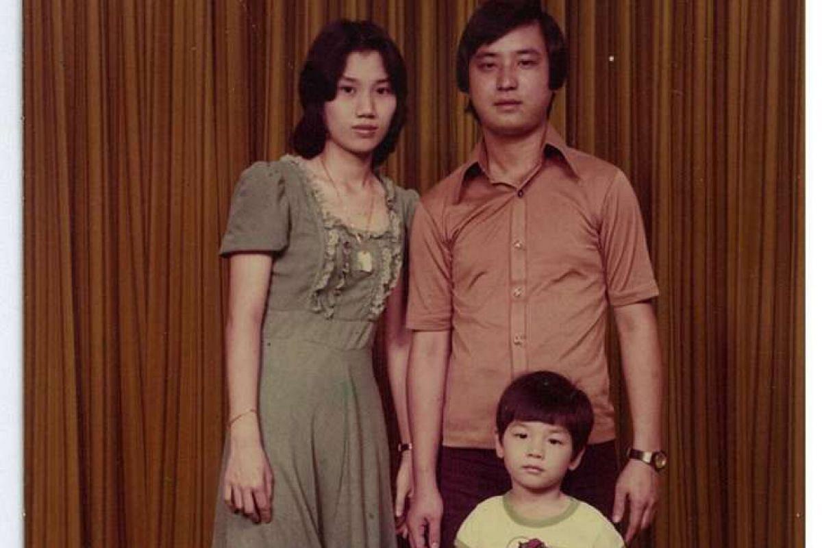 My Life So Far: Jackson Tan at three years old, with his parents Jimmy and Christina Tan.