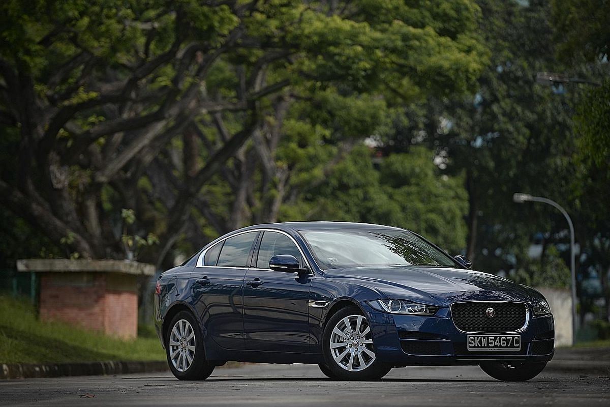 The XE2.0D attracts a significantly higher annual tax than its petrol- powered twin.