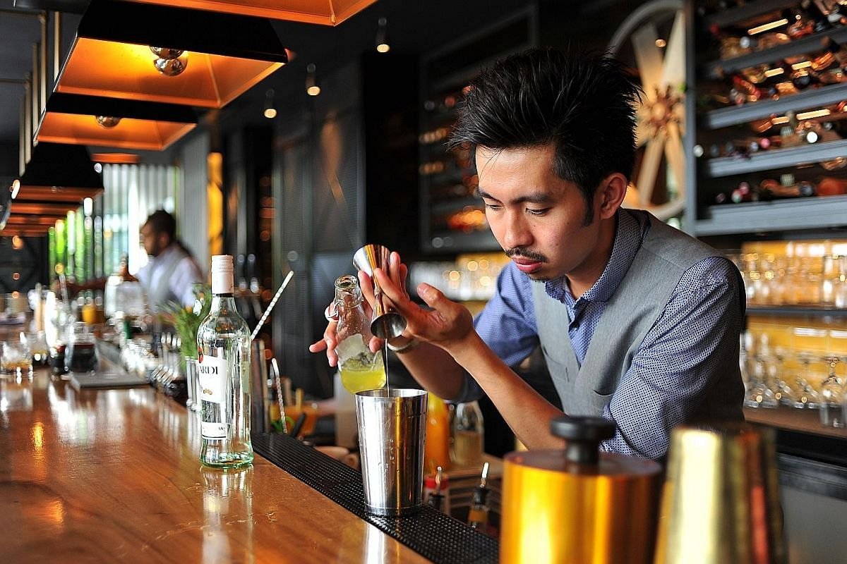 Bread Street Kitchen bartender Adonis Reyes is one of the five finalists from Singapore in the Bacardi Legacy rum cocktail competition.