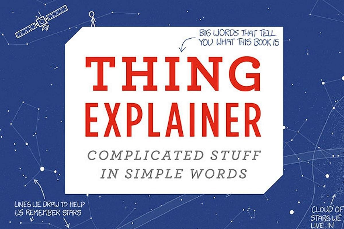 Randall Munroe's book uses only the 1,000 most commonly used words in the English language.