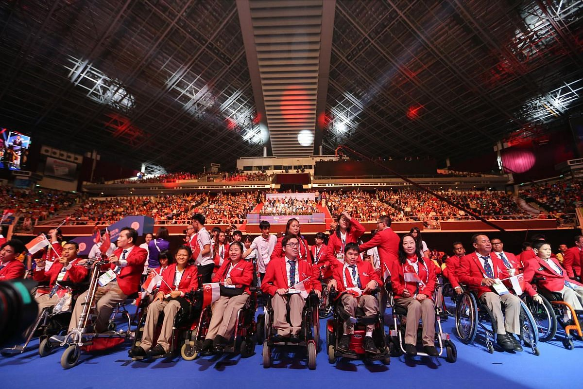 Singapore has 154 representatives in all 15 sports this year.