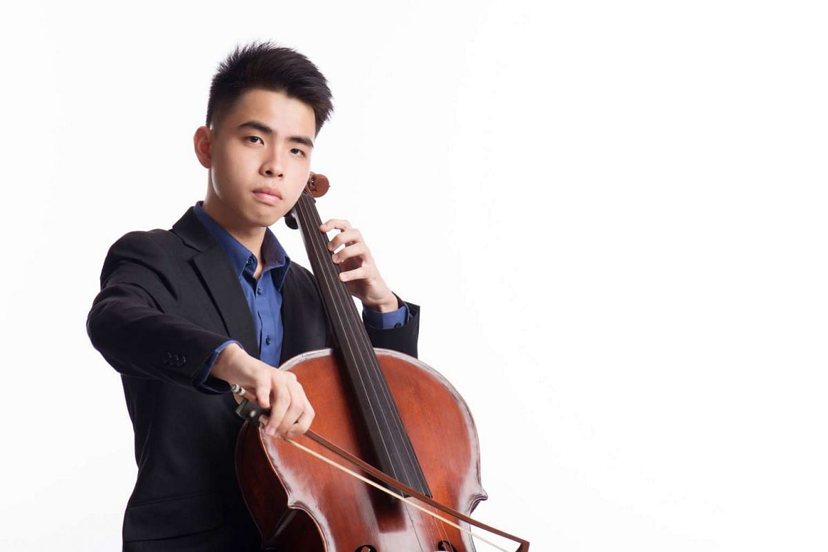This year's ChildAid concert will include performances by cellist Lubin Chee.