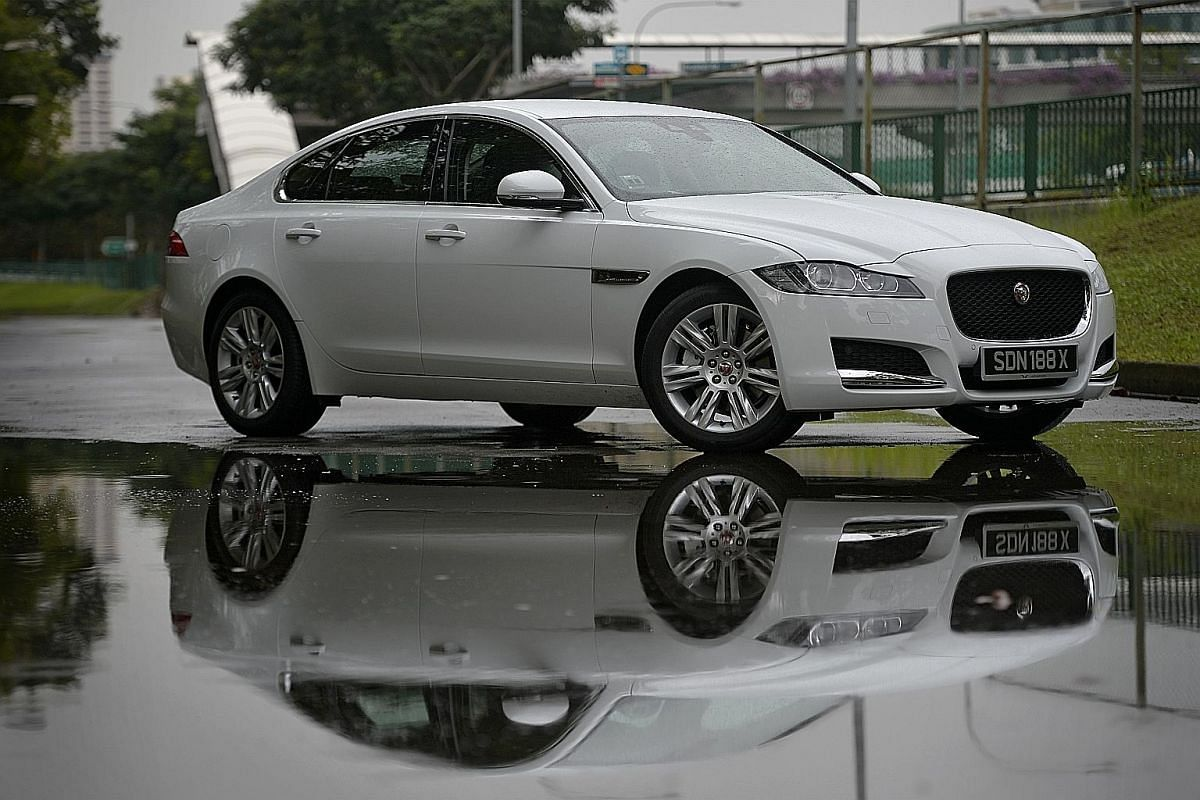 The Jaguar XF behaves like a UFC fighter and its cabin ambience matches that of many rivals.