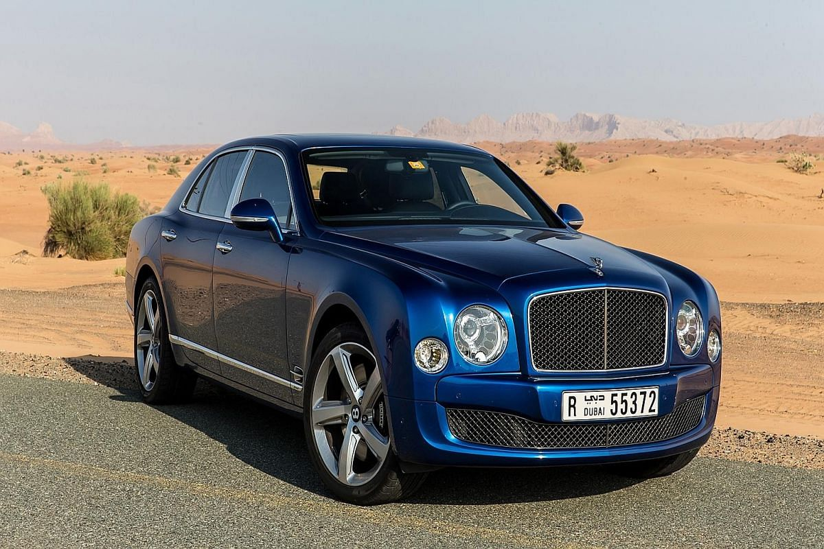 The Bentley Mulsanne Speed is surprisingly agile for something its size.