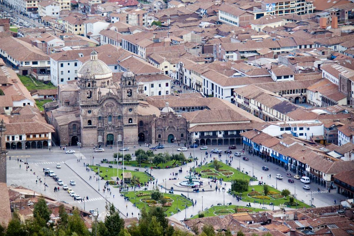 There are Christmas celebrations aplenty in the city of Cusco (above), where the Santurantikuy market at Plaza de Armas is considered the pinnacle of all festivities.