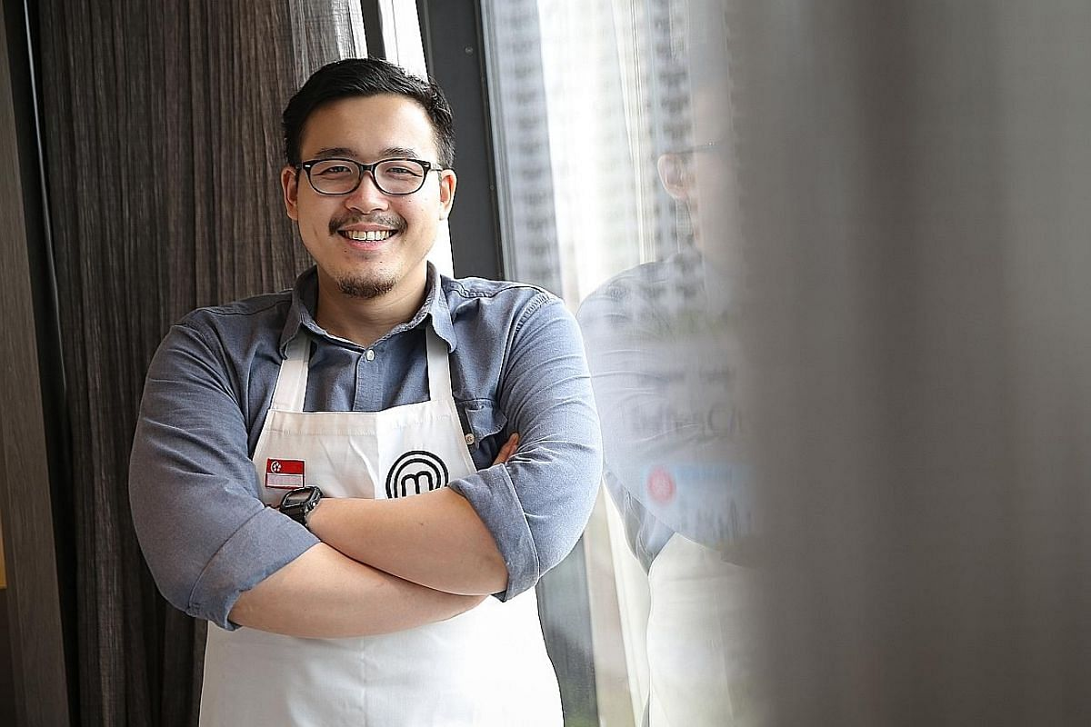 Part-time bartender and former lawyer Woo Wai Leong plans to open a restaurant when he is ready.