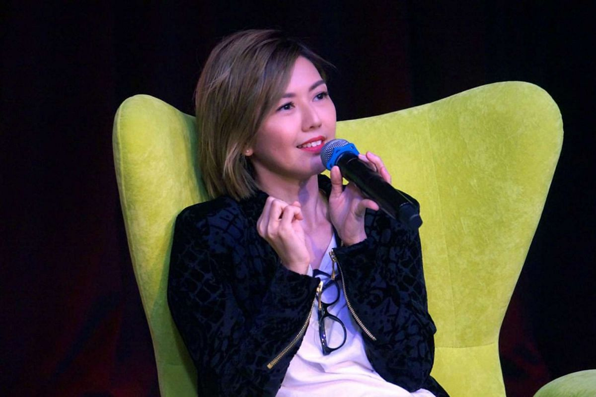 Stefanie Sun recalls how in her early years a neighbour shouted at her to shut up when she sang.