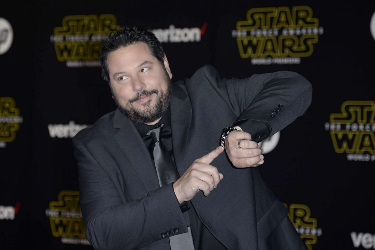 Actor Greg Grunberg arriving at the premiere of Star Wars: The Force Awakens.