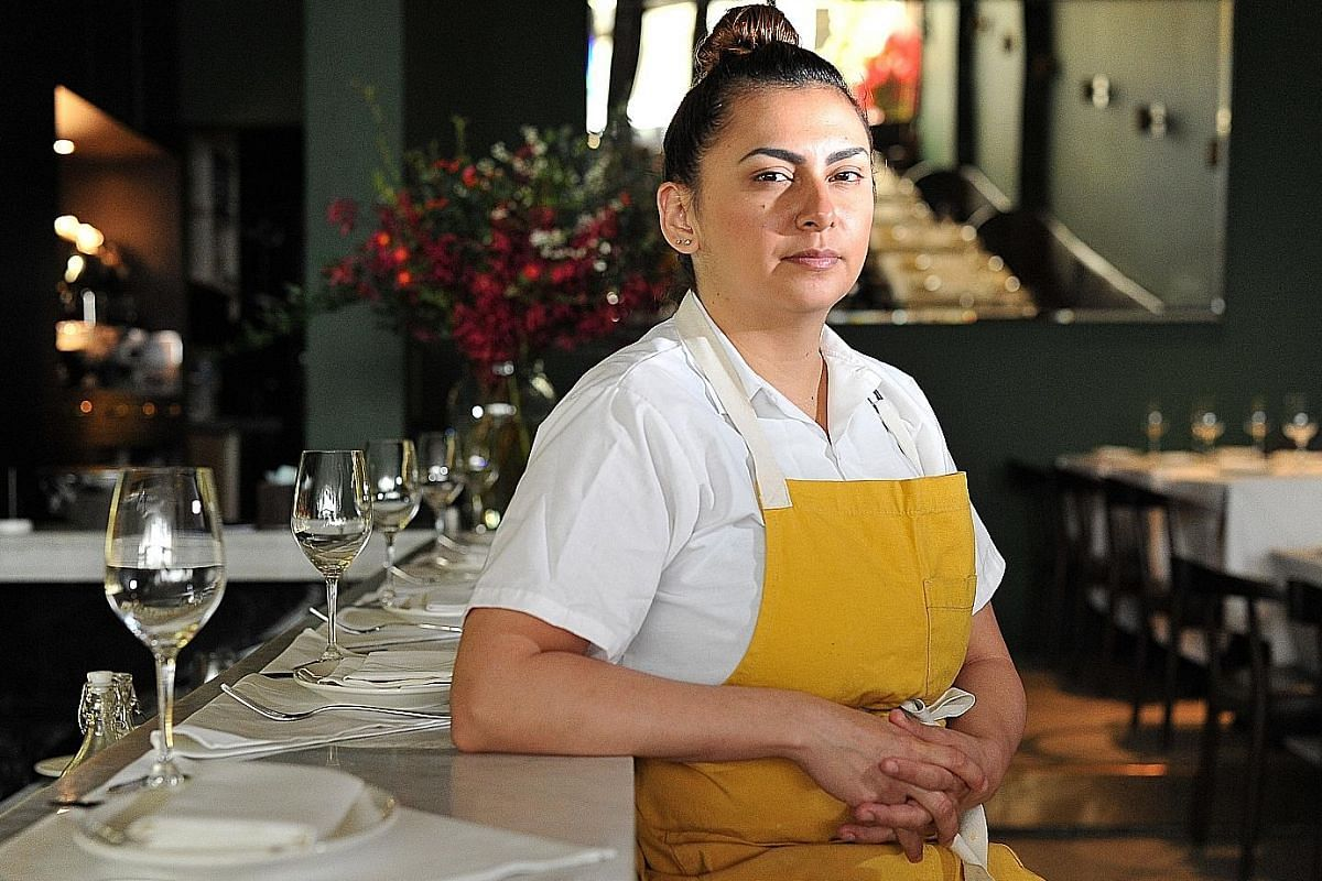 American pastry chef Ariana Flores likes fish-head curry and fried cereal sotong.