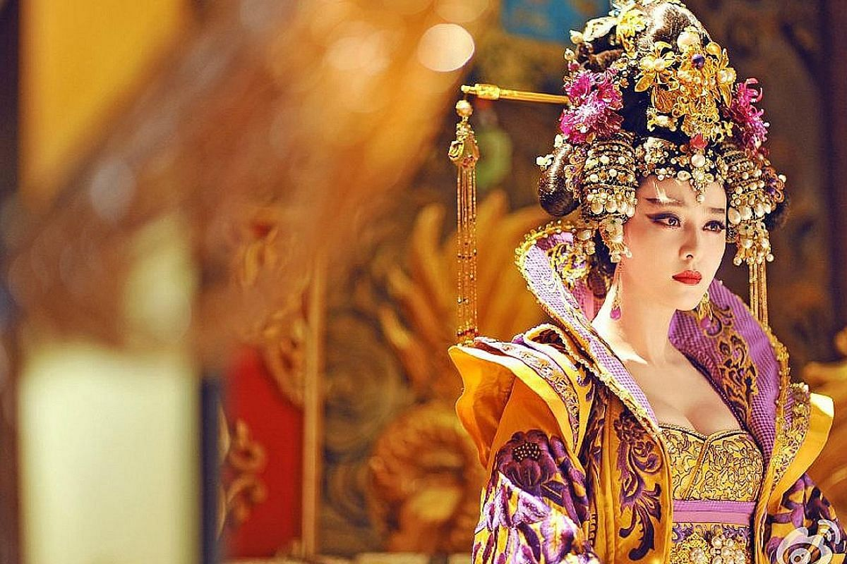 Humans (top); Crescendo (above); and Fan Bingbing in The Empress Of China (left).