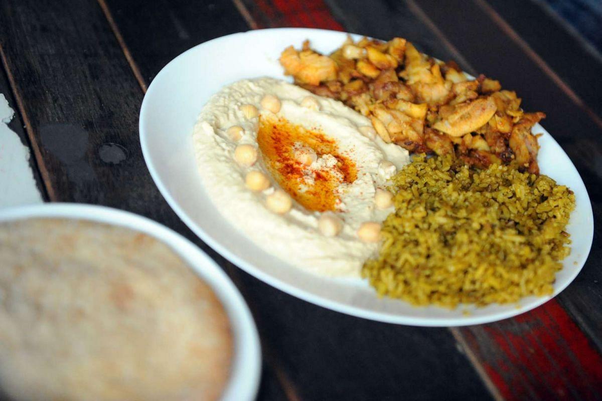 PITA & OLIVES - Chicken Shawarma set