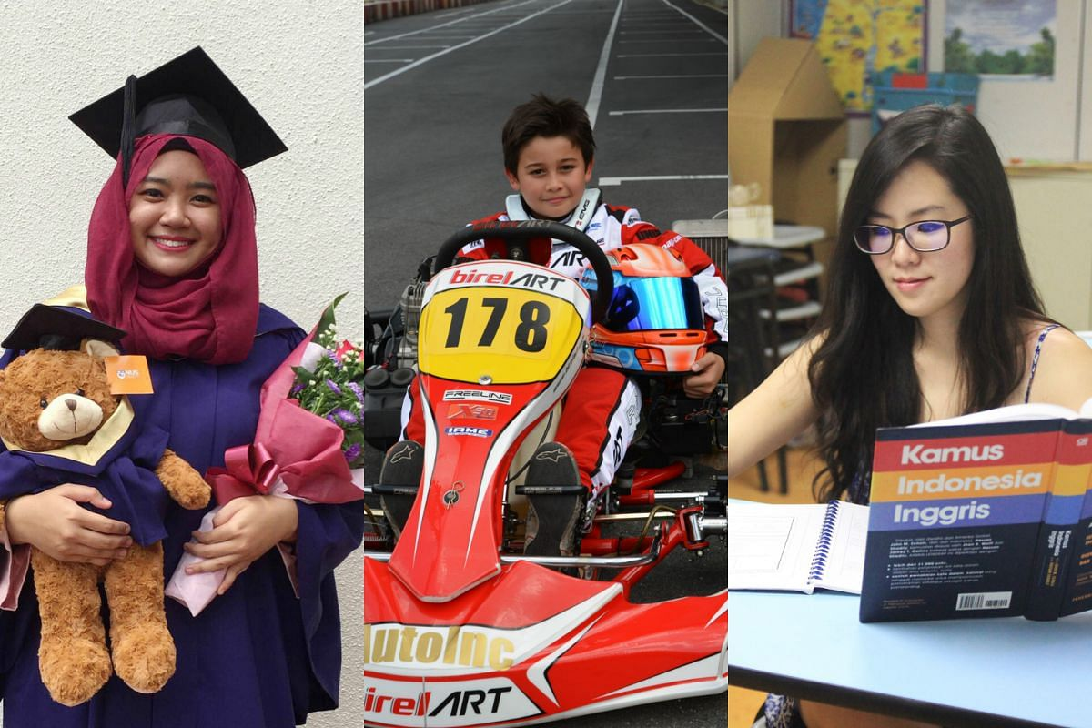 (From left) Nuralyah Razali, Ryan Michael Chapman and Chen Ting have all met their 2015 targets and kept to their New Year's resolution.