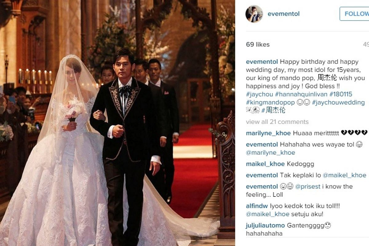 Jan 18: Jay Chou Ties the knot (and becomes a father).