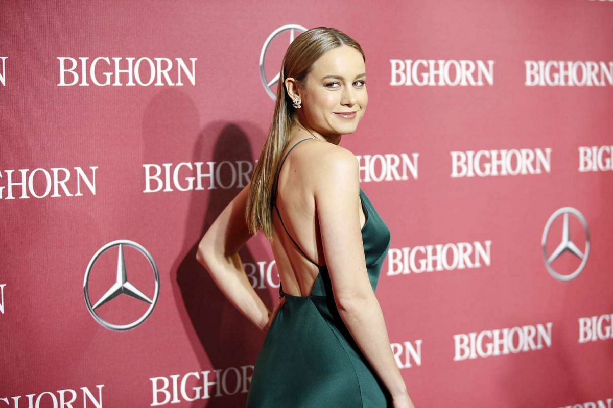 Breakthrough Performance Award recipient actress Brie Larson at the 27th Annual Palm Springs International Film Festival Awards Gala in Palm Springs, California, on Jan 2, 2016.