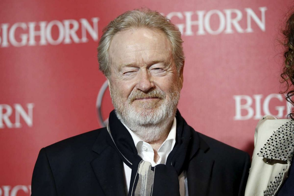 Director Ridley Scott at the 27th Annual Palm Springs International Film Festival Awards Gala in Palm Springs, California, on Jan 2, 2016.