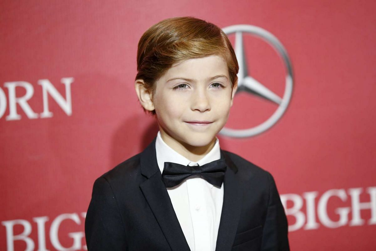 Actor Jacob Tremblay from the film Room at the 27th Annual Palm Springs International Film Festival Awards Gala in Palm Springs, California, on Jan 2, 2016.