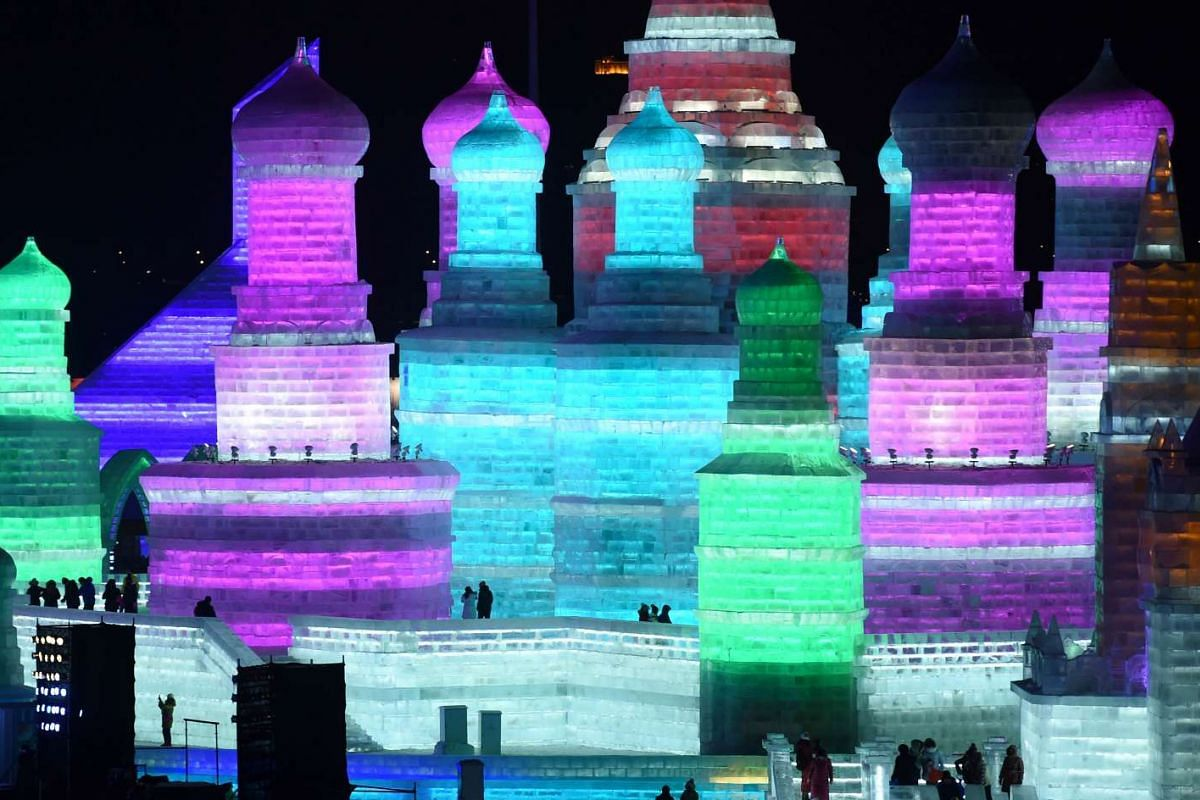 Over a million visitors are expected to attend the Harbin International Ice and Snow Festival, which will run from Jan 5 to Feb 5, 2016.