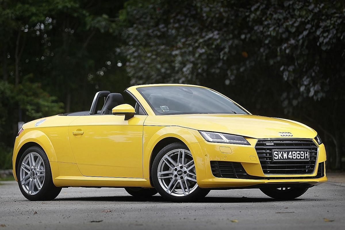 Lighter than the previous model, the new Audi TT Roadster is more zippy and its engine is cranked up to produce a lot more power.