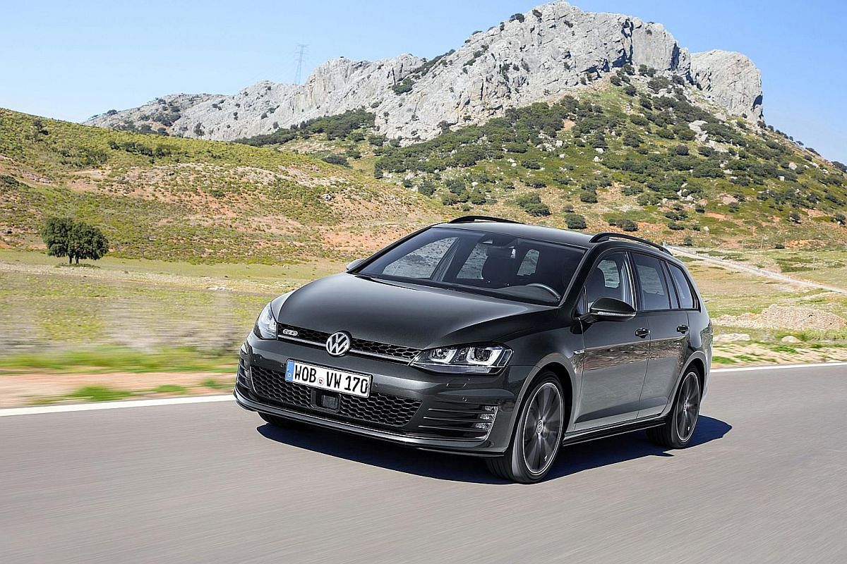 The Volkswagen Golf GTD Variant drives almost like a hot hatch and is very fuel-efficient.