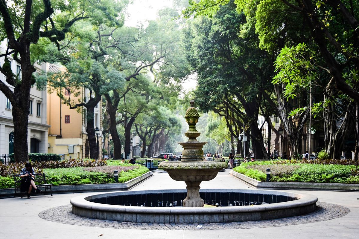 Many visitors are drawn to the shady boulevards and beautifully manicured gardens of Shamian Island (above) and Gulangyu.
