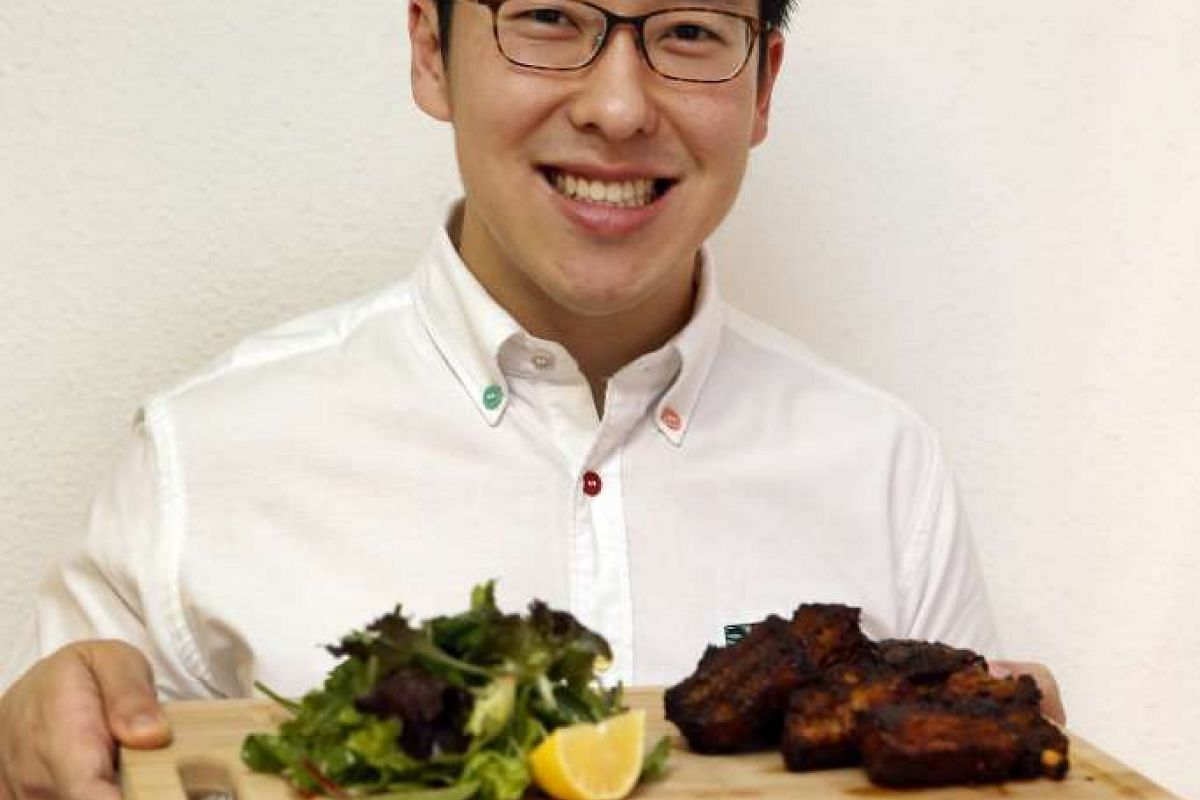 Dr Darrell Ong's baked curry pork ribs is a dish he came up with last month after tweaking an earlier recipe.