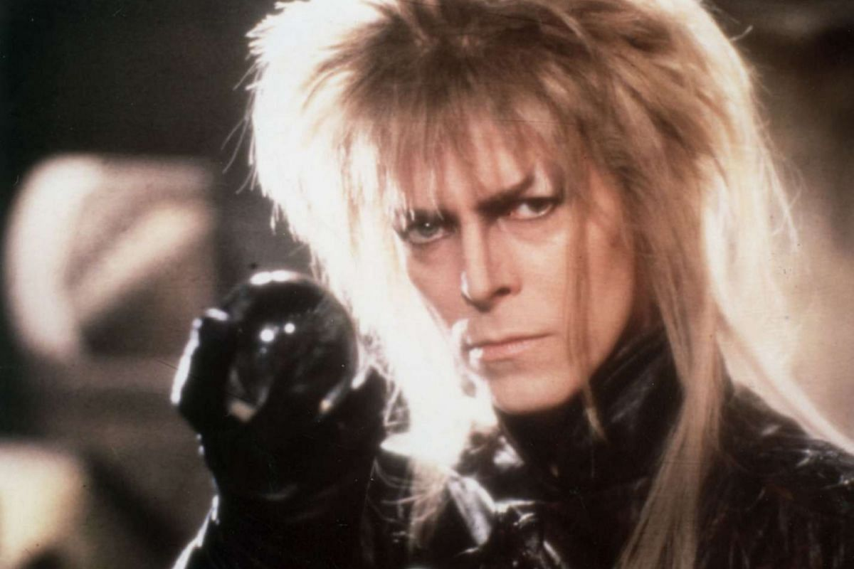 In 1986, he played the Goblin King in Jim Henson's fantasy movie Labyrinth.