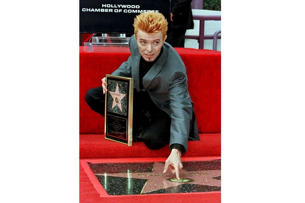 The singer was awarded a star on the Hollywood Walk of Fame in 1997.