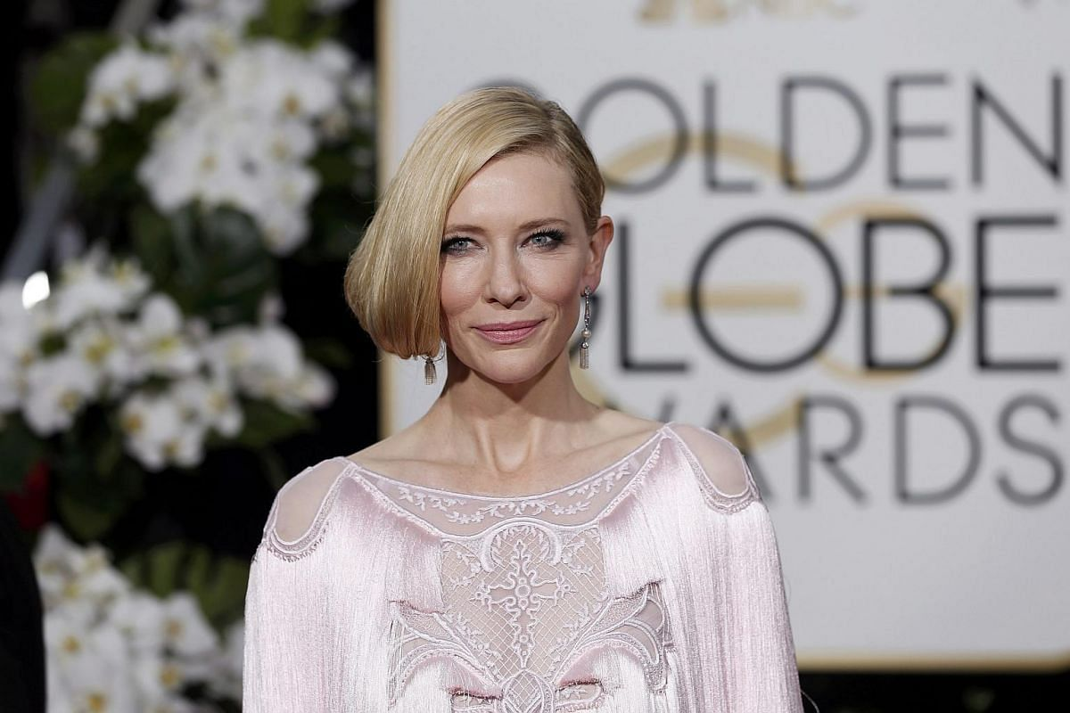 Actress Cate Blanchett arrives at the 73rd Golden Globe Awards in Beverly Hills, California, on Jan 10, 2016.