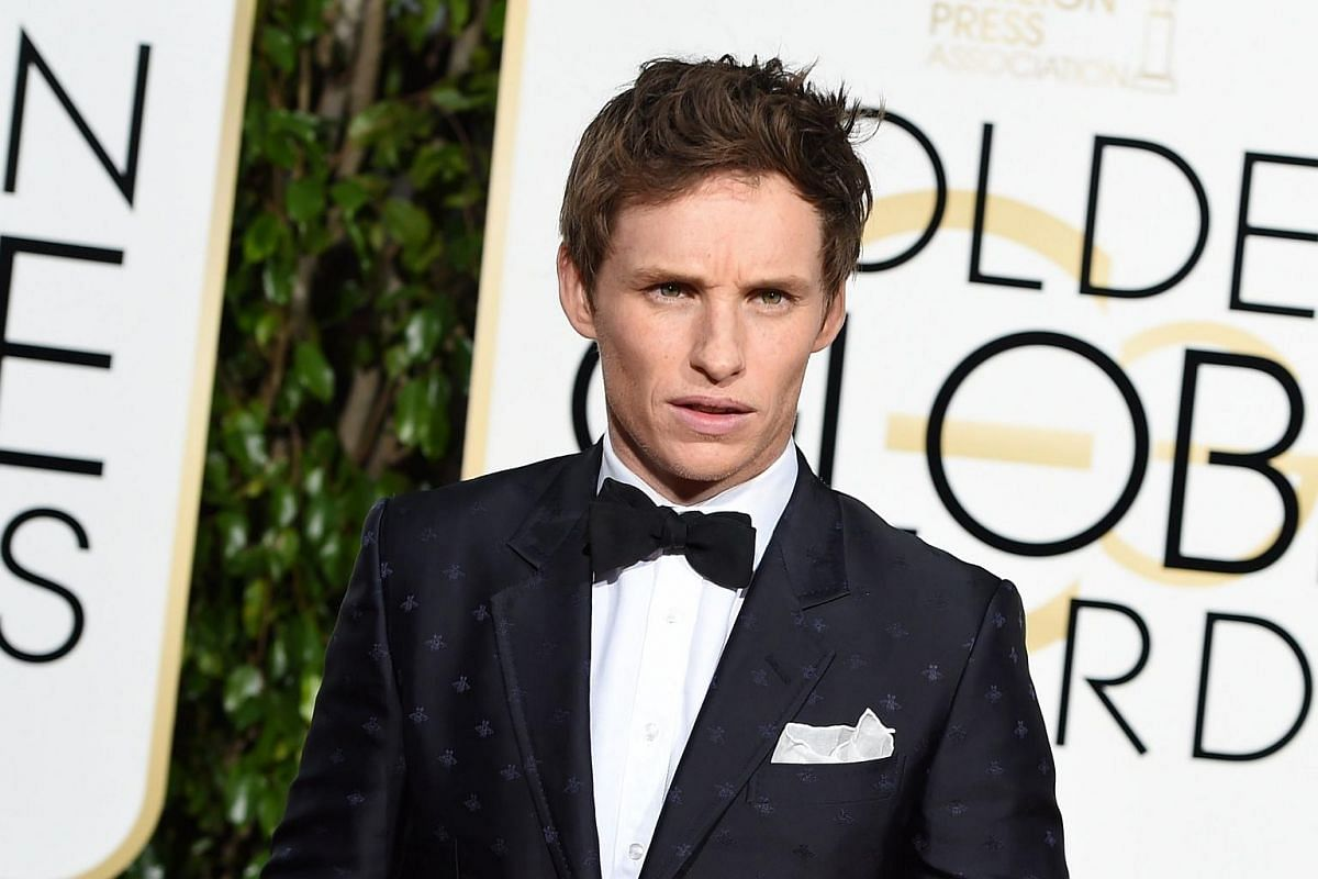 Actor Eddie Redmayne arrives for the 73nd annual Golden Globe Awards, on Jan 10, 2016, at the Beverly Hilton Hotel in Beverly Hills, California.