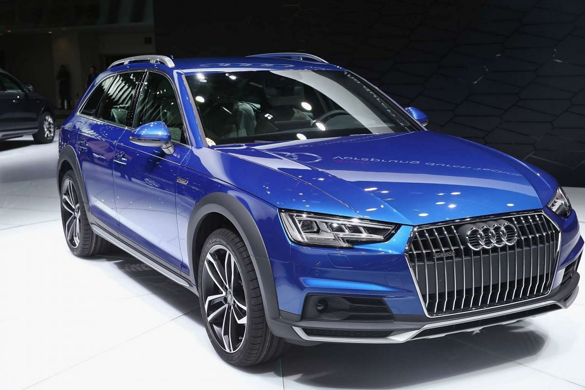 Audi's A4 Allroad Quatro at the North American International Auto Show in Detroit, Michigan, on Jan 11, 2016.