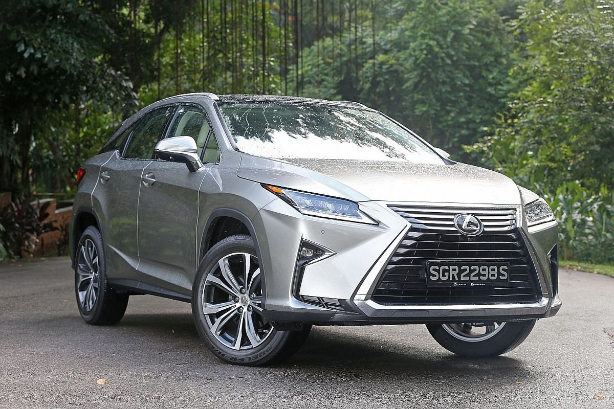 The Lexus RX200t Looks Good From Every Angle And Offers Plenty Of Room In  The Second
