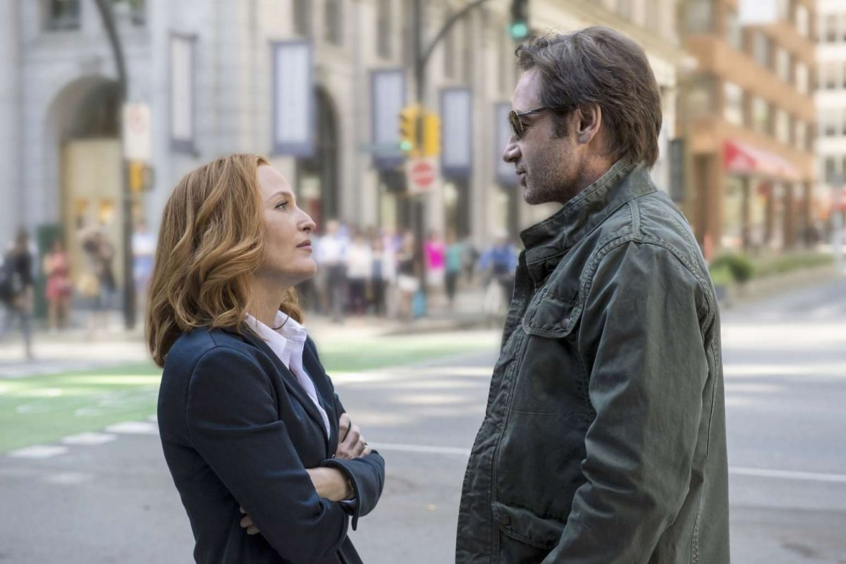 """""""We both went some what crazy. The thing about being crazy is that you don't know you're crazy. But, with time, I think we can both look back and appreciate why the other was crazy, and forgive."""" DAVID DUCHOVNY,on how the fame that came with The"""