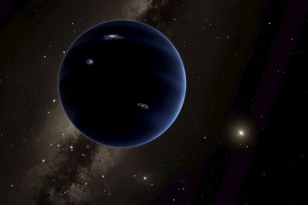 An artist's rendering shows the distant view from Planet Nine back towards the sun, in this handout photo provided by the California Institute of Technology in Pasadena, California, Jan 20, 2016. PHOTO: REUTERS/CALTECH