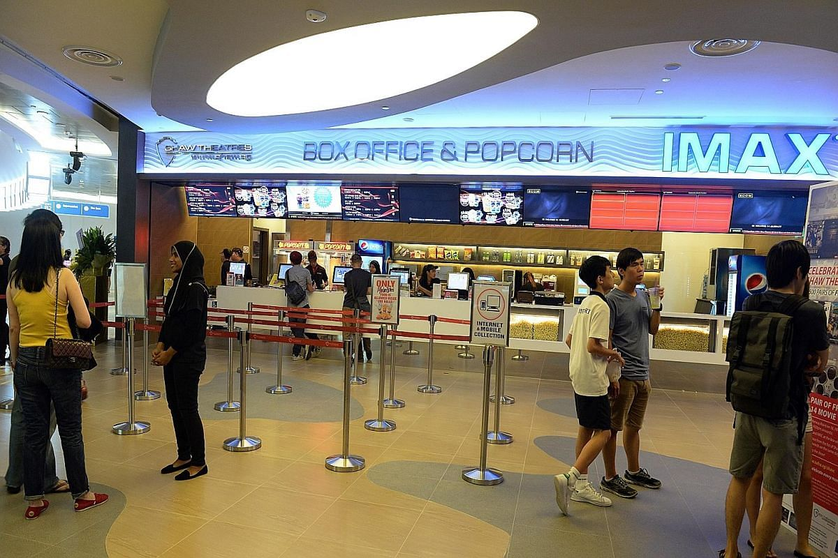 Shaw Theatres opened its ninth cineplex at Waterway Point mall yesterday.