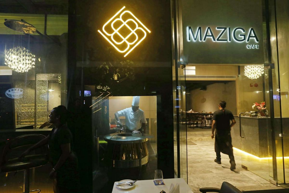 Maziga Cafe and Club houses an Indian fusion eatery on the ground floor and a Bollywood- Bhangra club on the second level.