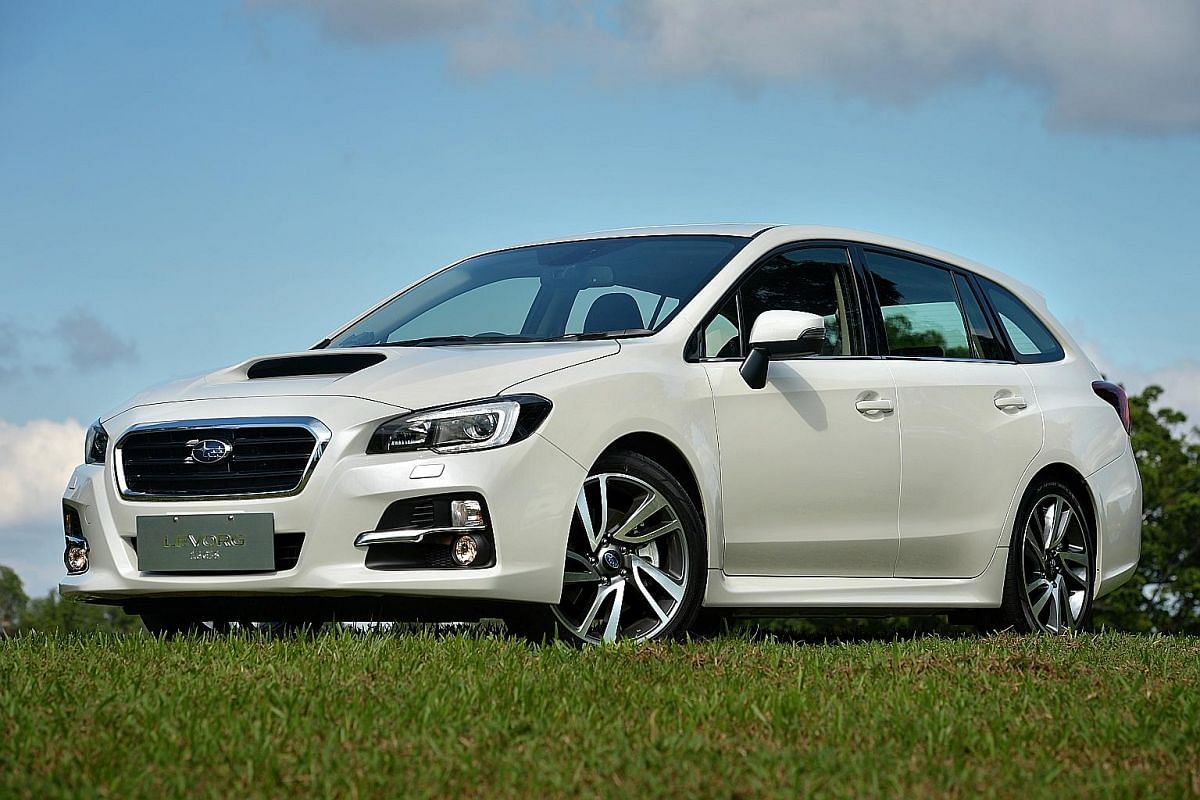 The new turbocharged 1.6-litre Subaru Levorg drives like a car with a much bigger engine.