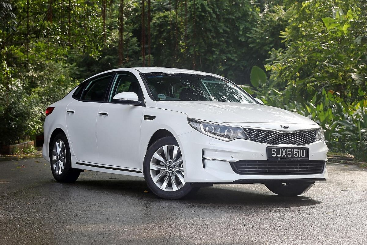 The new Kia Optima is slightly bigger than before and boasts a balanced measure of comfort, support and confidence.