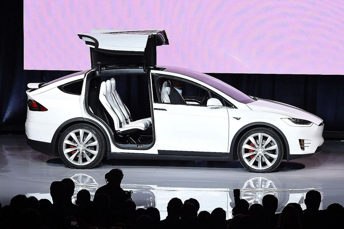 Electric carmaker Tesla launched its Model X last year.