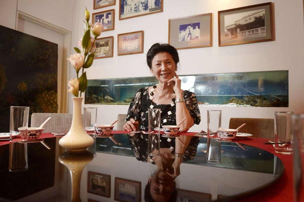 Madam Soon Puay Keow (above) still insists on doing things at Spring Court the oldfashioned way to preserve the authentic flavours of its food.