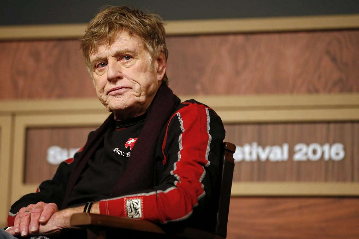 Sundance founder Robert Redford launched the festival with a press conference.