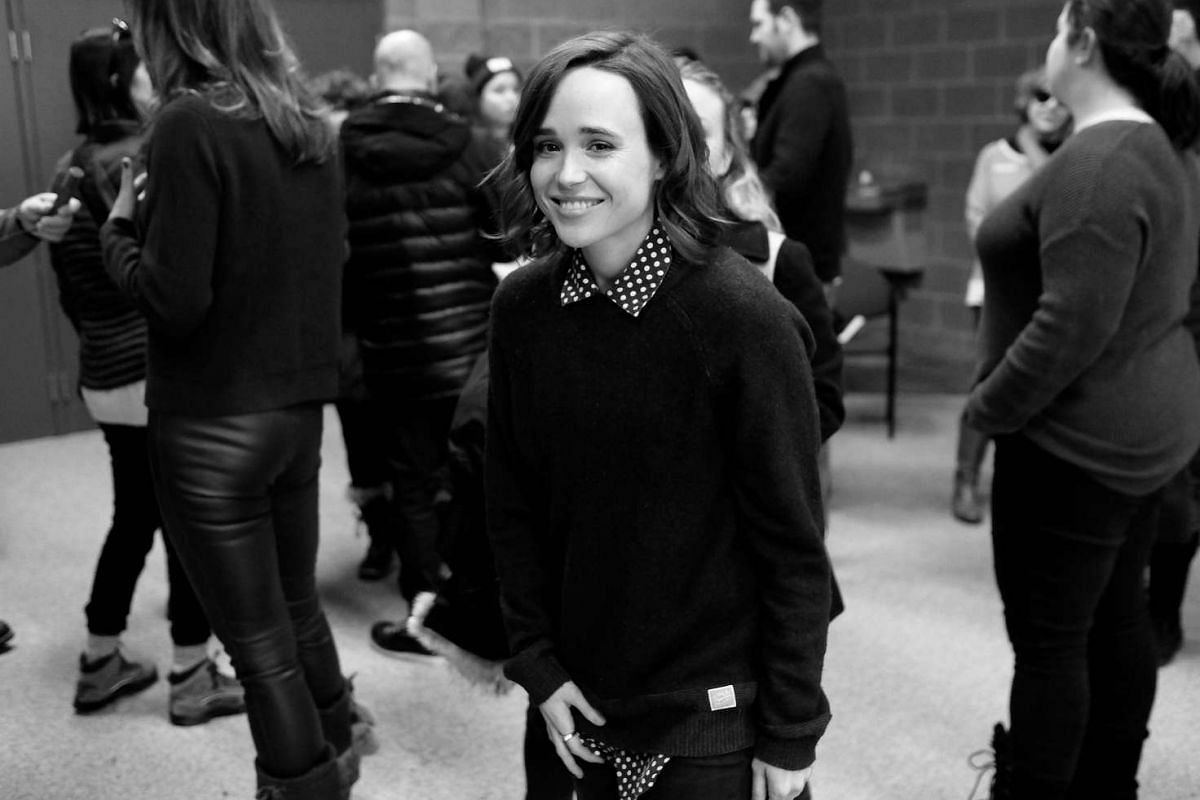 Actress Ellen Page attends the premiere of Tallulah, a comedy drama which reunites her with Juno costar Allison Janney.