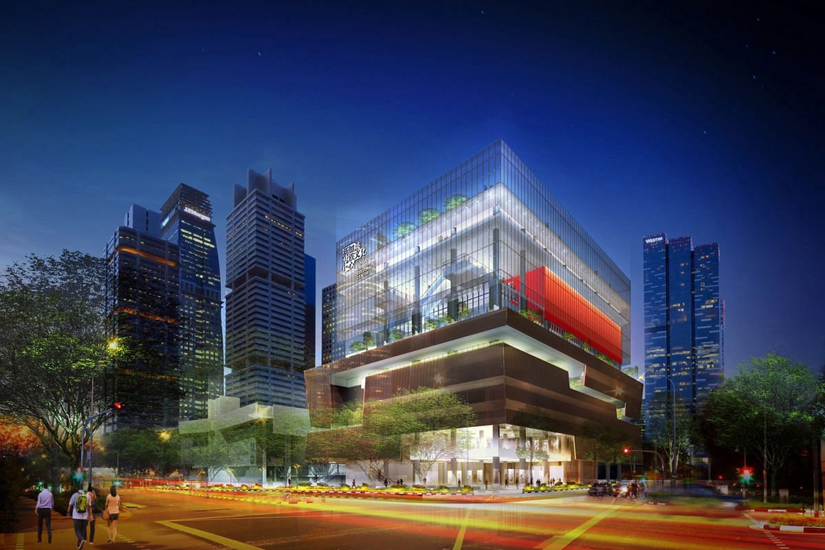 The Singapore Chinese Cultural Centre will have a 550-seat auditorium, an exhibition and a multi-purpose hall, and a reading area, classrooms and rehearsal rooms.