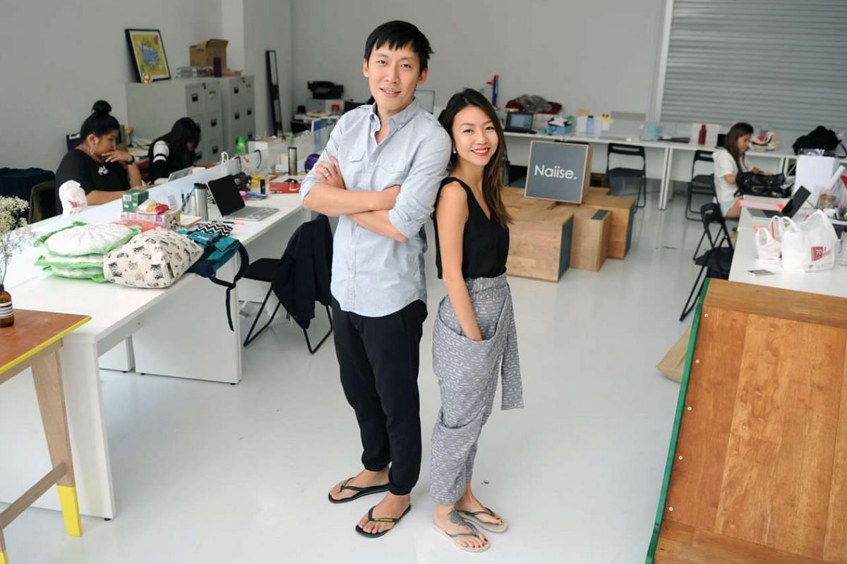 Naiise's Dennis Tay and Amanda Eng (both above) plan to open more stores this year.