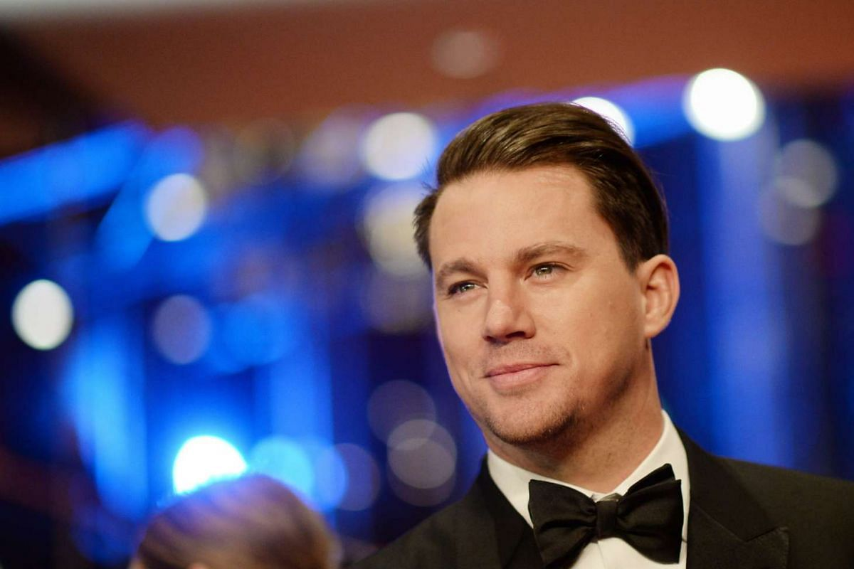 Channing Tatum arrives for the Opening Ceremony of the 66th annual Berlin International Film Festival and the premiere of Hail, Caesar!, in Berlin, Germany on Feb 11, 2016.