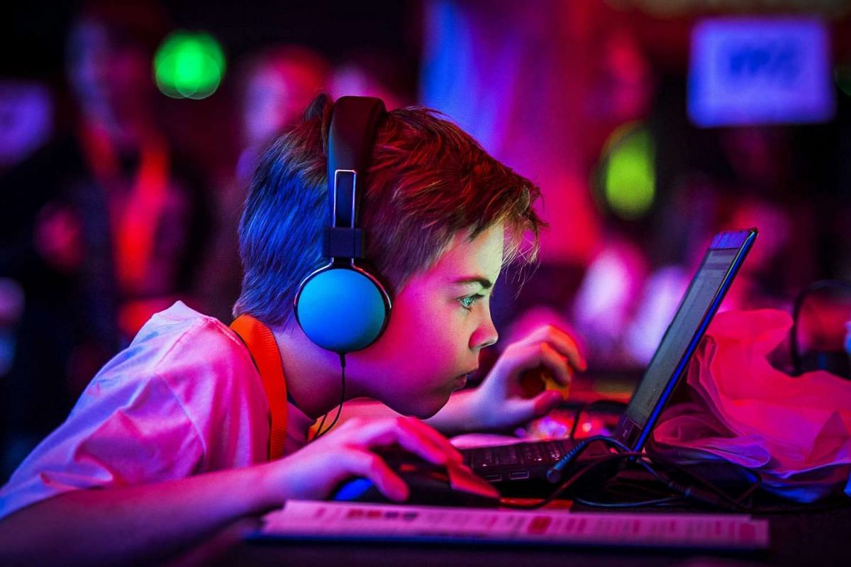 Children take part at the CoderDojo in the Ziggo Dome, in Amsterdam, The Netherlands, on Feb 17, 2016. CoderDojo is an initiative from Ireland where children learn to program, build websites and develop applications. PHOTO: EPA/REMKO DE WAAL