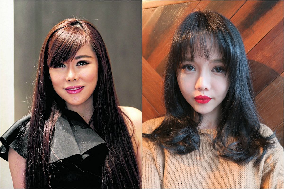 Blogger Bong Qiu Qiu (right) and Jacqueline Koh have both gone through plastic surgery procedures to alter their looks.
