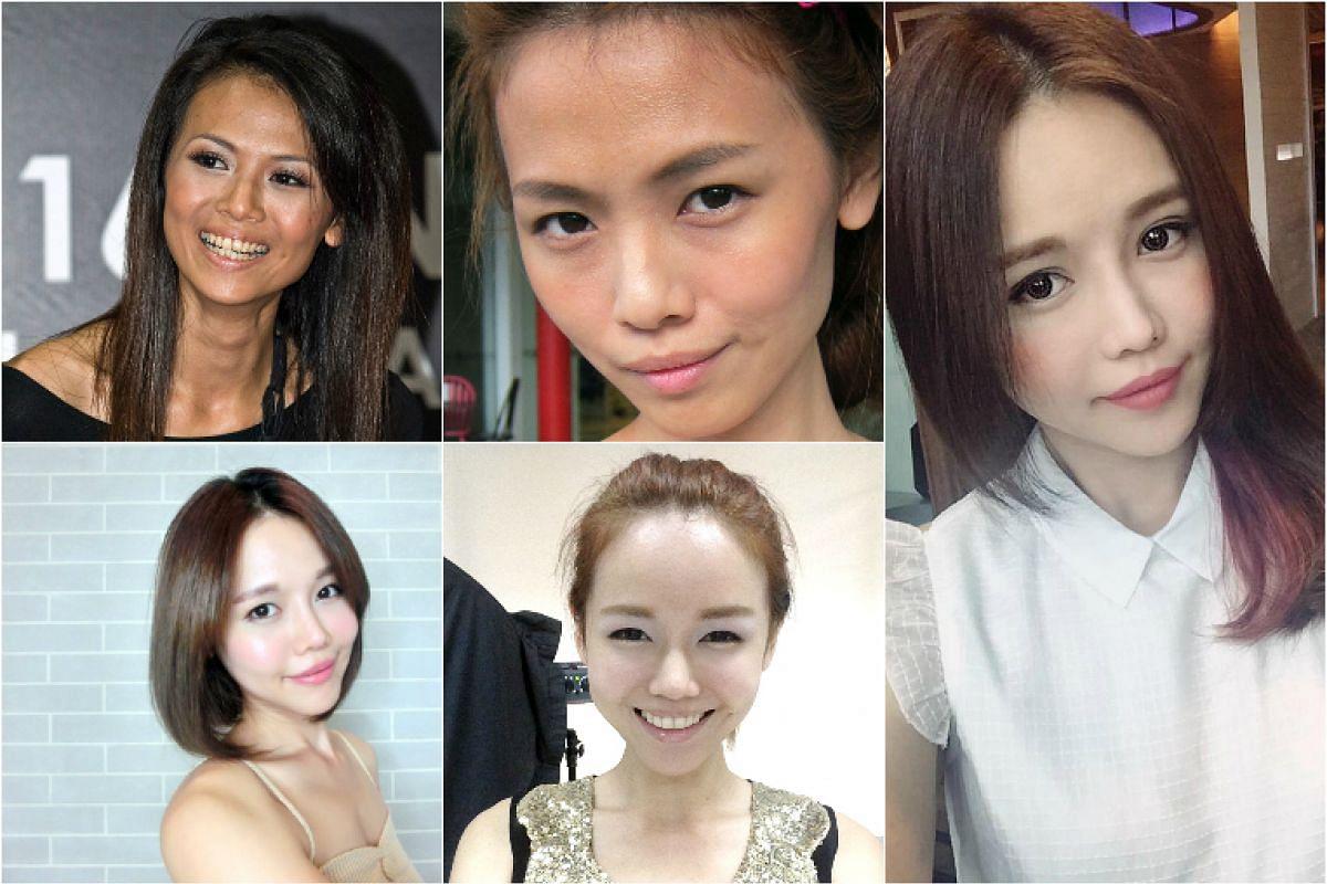 Blogger Bong Qiu Qiu's look throughout the years.