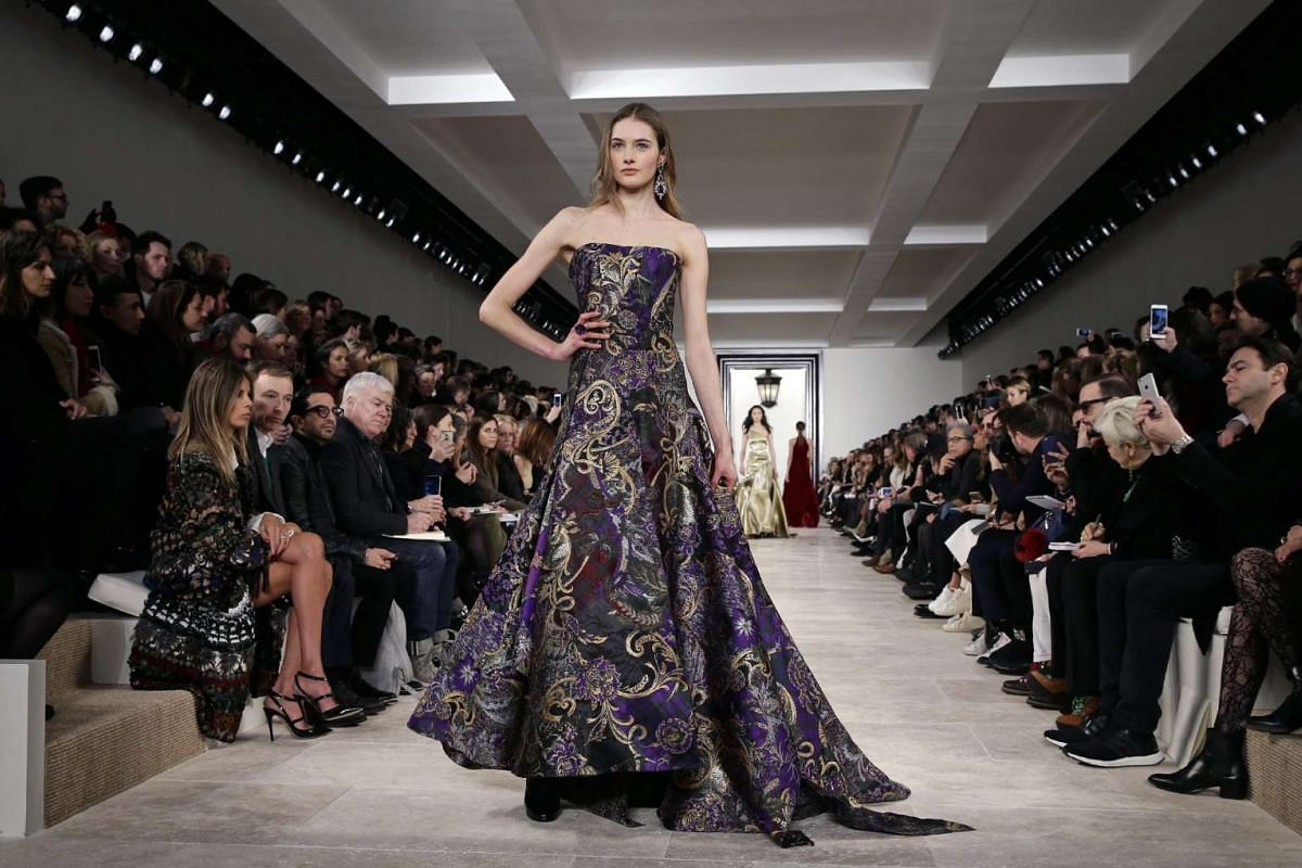 US model Kendall Jenner presents a creation by US designer Michael Kors at the New York Fall Fashion Week, on Feb 17, 2016.