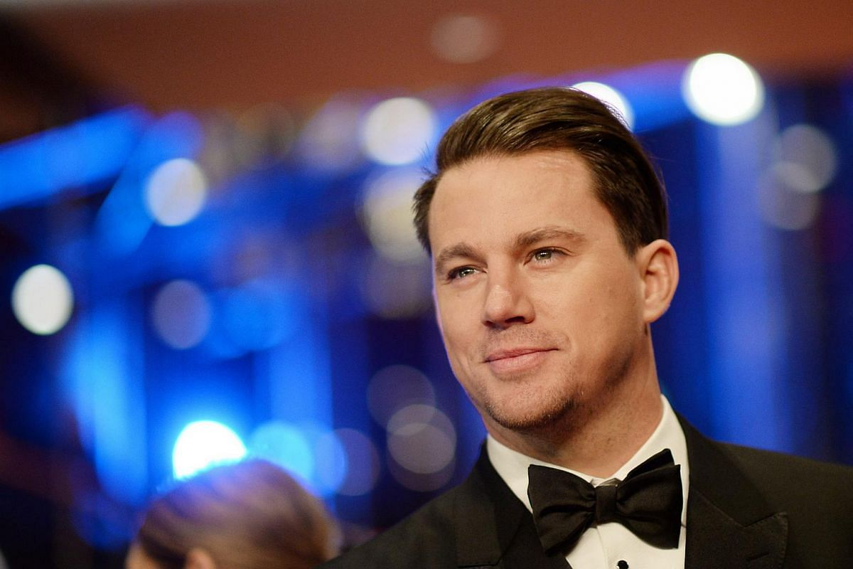 Channing Tatum arrives for the Opening Ceremony of the 66th annual Berlin International Film Festival and the premiere of Hail Cesar.
