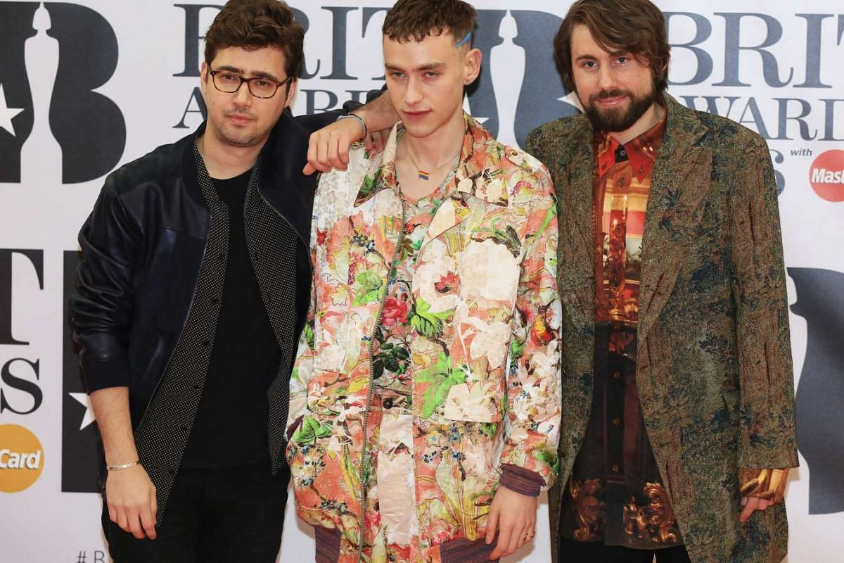 British band Years & Years arriving at the O2 Arena in London.